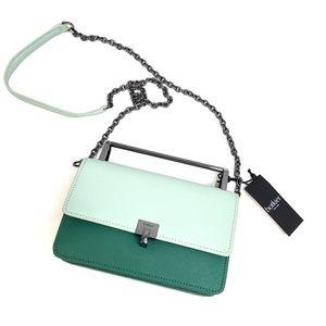 Botkier   Lennox Sage Color Block Shoulder Bag